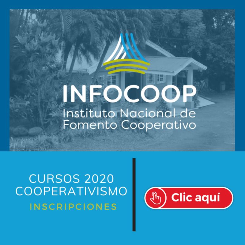 Infocoop - Cursos 2020 Cooperativismo