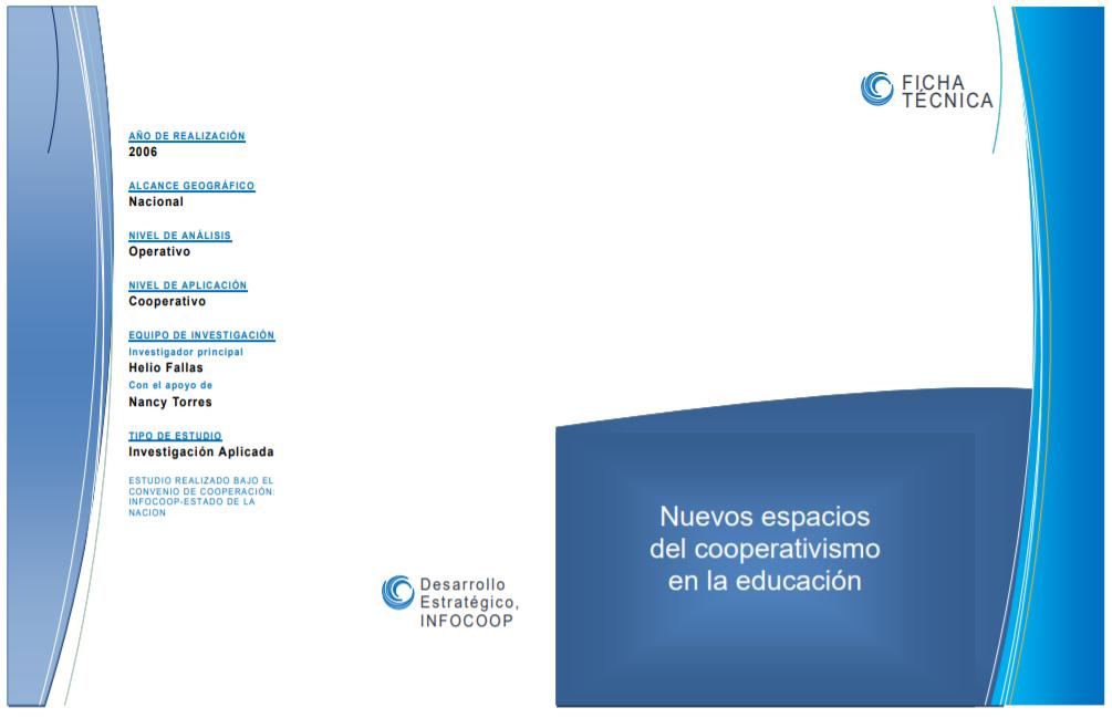nuevos espacios del cooperativismo en la educacion