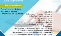 Curso virtual Aspectos contables para las cooperativas