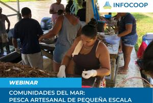 Webinar sobre Comunidades del Mar: Pesca artesanal de pequeña escala